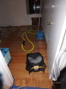Pipe Break/Flood/ Water Damage/Drying in Progress in Longmeadow, MA (1)