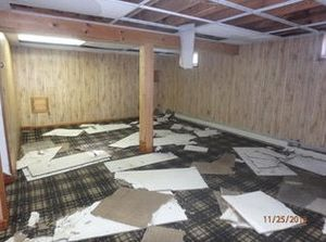 Pipe Burst/Flood/Water Damage in Longmeadow, MA (1)
