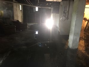 Flooded Basement from Burst Pipes in Redding, MA (2)