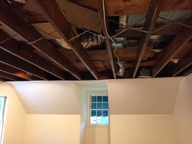 Burst Pipes, Water Damage Restoration, Flooded Basement in Boston MA (2)