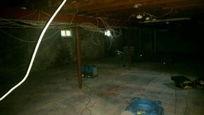 Mold Removal after Basement Flooded from Burst Pipe in Peabody MA (4)