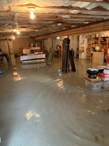 Flooded Basement in Chester, MA (1)